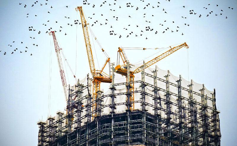 Baustellen Einrichtung